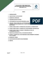 Informe Eval Complementaria INST