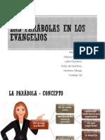 Las Parábolas en Los Evangelios