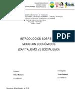 (Capitalismo vs Socialismo)