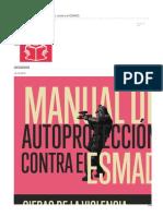 Manueal de autoprotección contra policia antidisturbios