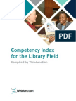 Competency Index Librarians