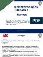 Unidad 3 Reología