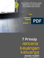 5 Materi ,7 Prinsip Perencanaan Keuangan Keluarga