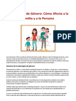 La Ideología de Género- Como Afecta a La Familia y a La Persona