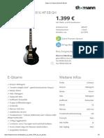 Gibson LP Studio 2016 HP EB GH