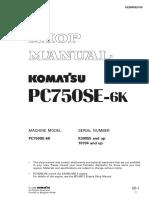 Uebm002100 Pc750-6(Gbr)-Auto Greasing Sn k30055-Up