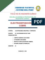 Electrodeposicion Del Cobre2do Informe