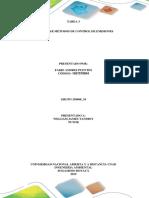 Tarea 3 - Identificar Metodos de Control de Emisiones
