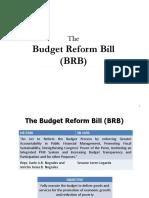 The Budget Reform