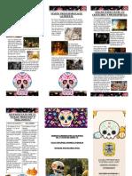 Triptico Dia de Los Muertos 2019 Fll