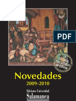 Catálogo de Novedades 2009-2010
