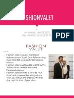 Assignment  Fashionvalet