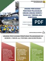 Urgensi Penyusunan RPP UU Jasa Konstruksi_Mks 25072019 #2