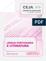 Ceja Lingua Portuguesa Unidade 19
