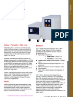 Automatic VOltage Stabilizer-V Series