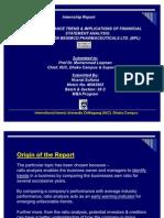 Nusrrat Presentation Intern Report