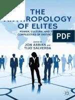 ABBINK, J; SALVERDA, T. (Ed). the Anthropology of Elites.