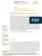 Tarling Music Digitalization and Transformation In