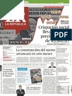 Diario La República Noviembre 28 de 2019