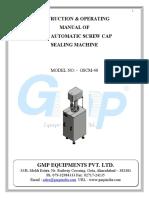 Manual Capping