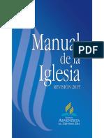 Manual de La Iglesia 2015