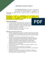 SEMINARIO.- Estudiantes, Escuelas, Familias y Comunidades (Libro UNEM)