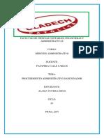 Procedimiento Administrativo Sancionador PDF