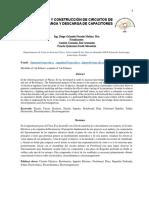 Paper Diseño y Construcción de Circuitos de Carga y Descarga de Capacitores