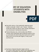 History of Education for Students With Disabilities (3)
