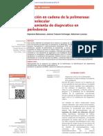 Polymerase Chain Reaction -A Molecular Diagnostic Tool in Periodontology-convertido.en.Es