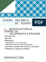 1DISEÑO   MECÁNICO   DE   EQUIPO.pptx