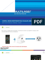4 Config Modo Repetidor via Wi-Fi - Android RE055