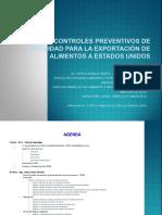 FSMA Controles Preventivos de Inocuidad