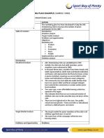 3.3. Sample of an Indepth Marketing Plan