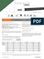Cabo Mackflex Solar Tech Sn 1,8kvcc