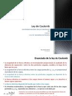 Ley de Coulumb - Gauss.pptx