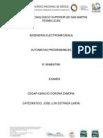 Examen Automatas Edgar Corona 8a Com2