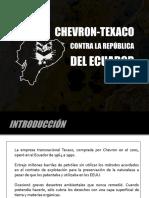 Caso Ecuador Chevron-Texaco