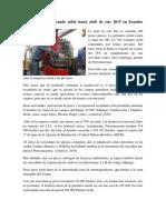 La producción de crudo subió hasta abril de este 2019 en Ecuador.docx