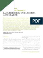 supervision sector asegurador