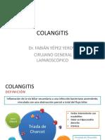 Colangitis Dr. Yepez