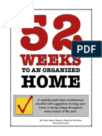 52 Weeks to an Organized Home eBook