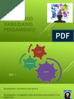 DHP DESARROLLO DE HABILIDADES DEL PENSAMIENTO