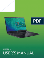 Manual Laptop Acer Aspire e 14