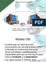 IVB Clase Sist Operativos de Redes Modelo-osi