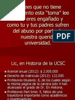 Comparación de Licenciatura en Historia de la Universidad Católica de la Santísima Concepción con las Licenciaturas en Historia de otras universidades