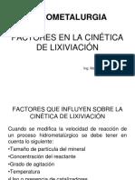 Factores en La Cinética de Lixiviación (1)