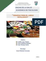 Monografia de Ludopatia
