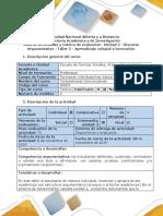 Guía de actividades y rúbrica de evaluación taller 5. Aprendizaje colegial e innovación.docx