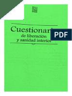 Cuestionario de Liberacion y Sanidad Interior 2017 - AP MALDONADO